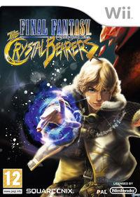 Portada oficial de Final Fantasy Crystal Chronicles: The Crystal Bearers para Wii