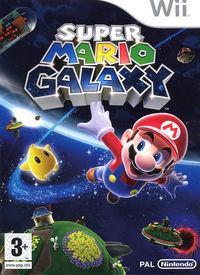 Portada oficial de Super Mario Galaxy para Wii