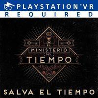 Portada oficial de El Ministerio del Tiempo VR: Salva el tiempo para PS4