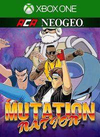 Portada oficial de NeoGeo Mutation Nation para Xbox One