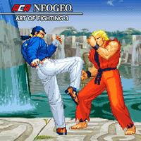Portada oficial de NeoGeo Art of Fighting 3 para Switch