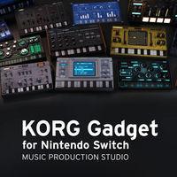 Portada oficial de KORG Gadget para Switch