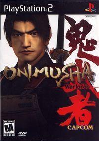 Portada oficial de Onimusha Warlords para PS2