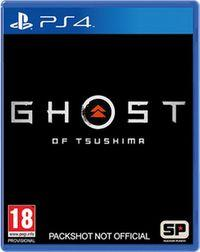 Portada oficial de Ghost of Tsushima para PS4
