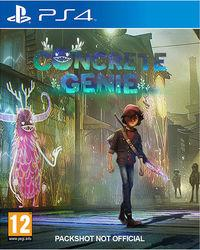Portada oficial de Concrete Genie para PS4