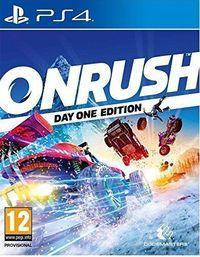 Portada oficial de Onrush para PS4
