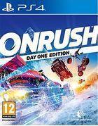 Portada oficial de de Onrush para PS4