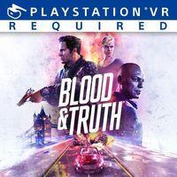 Portada oficial de Blood & Truth para PS4