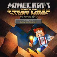 Portada oficial de Minecraft Story Mode: Season Two - Episode 4: Below the Bedrock para PS4