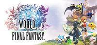 Portada oficial de World of Final Fantasy para PC