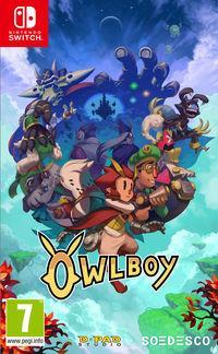 Portada oficial de Owlboy para Switch