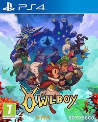 Portada oficial de Owlboy para PS4