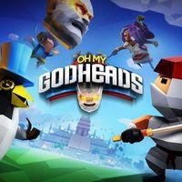 Portada oficial de Oh My Godheads para PS4
