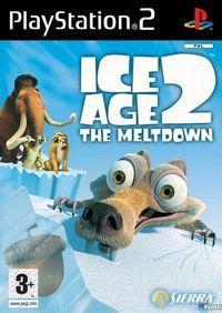 Portada oficial de Ice Age 2: El Deshielo para PS2