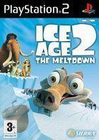 Portada oficial de de Ice Age 2: El Deshielo para PS2