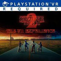 Portada oficial de Stranger Things: The VR Experience para PS4