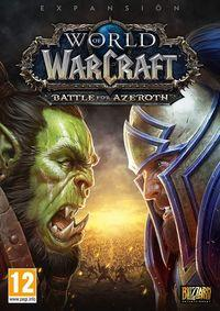 Portada oficial de World of Warcraft: Battle for Azeroth para PC