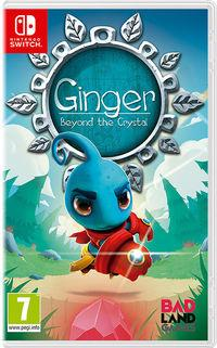 Portada oficial de Ginger: Beyond the Crystal para Switch