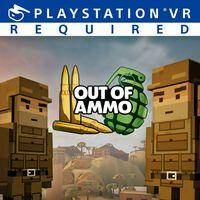 Portada oficial de Out of Ammo para PS4