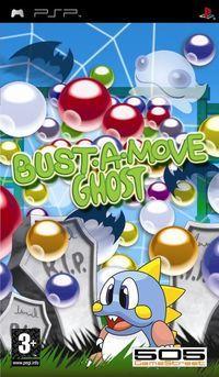 Portada oficial de Bust-A-Move Ghost para PSP