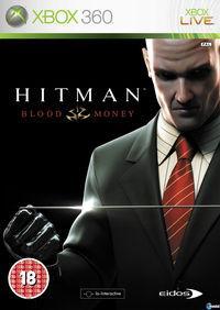 Portada oficial de Hitman: Blood Money para Xbox 360