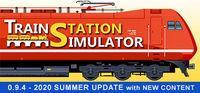 Portada oficial de Train Station Simulator para PC