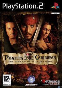 Portada oficial de Piratas del Caribe: La Leyenda de Jack Sparrow para PS2