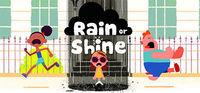 Portada oficial de Rain or Shine para PC