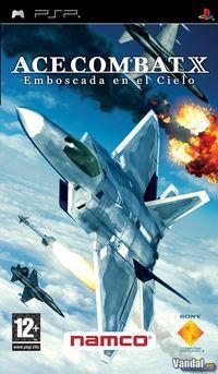 Portada oficial de Ace Combat X para PSP