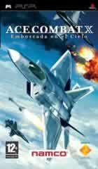 Portada oficial de de Ace Combat X para PSP