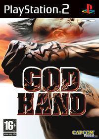Portada oficial de God Hand para PS2