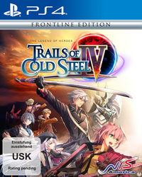 Portada oficial de The Legend of Heroes: Trails of Cold Steel IV para PS4