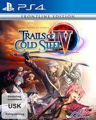 Portada oficial de de The Legend of Heroes: Trails of Cold Steel IV para PS4