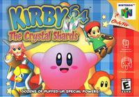 Portada oficial de Kirby 64: The Crystal Shards para Nintendo 64