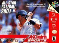 Portada oficial de All Star Baseball 2001 para Nintendo 64