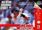 Portada oficial de de All Star Baseball 2001 para Nintendo 64