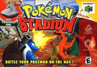 Portada oficial de Pokemon Stadium para Nintendo 64
