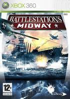 Portada oficial de de Battlestations : Midway para Xbox 360