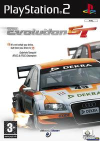 Portada oficial de Evolution GT para PS2