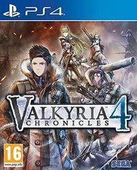 Portada oficial de Valkyria Chronicles 4 para PS4