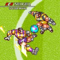 Portada oficial de NeoGeo Soccer Brawl para Switch