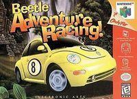 Portada oficial de Beetle Adventure Racing para Nintendo 64