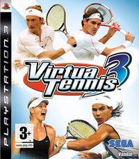 Portada oficial de Virtua Tennis 3 para PS3