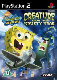 Portada oficial de SpongeBob SquarePants: Creature para PS2