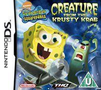 Portada oficial de SpongeBob SquarePants: Creature para NDS
