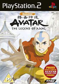 Portada oficial de Avatar: The Last Airbender para PS2