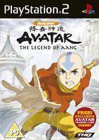 Portada oficial de de Avatar: The Last Airbender para PS2