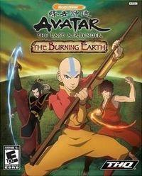 Portada oficial de Avatar: The Last Airbender - The Burning Earth para Wii