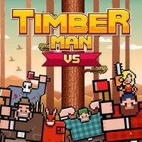 Portada oficial de Timberman para Switch