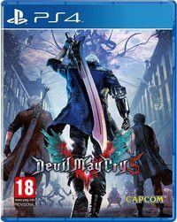 Portada oficial de Devil May Cry 5 para PS4